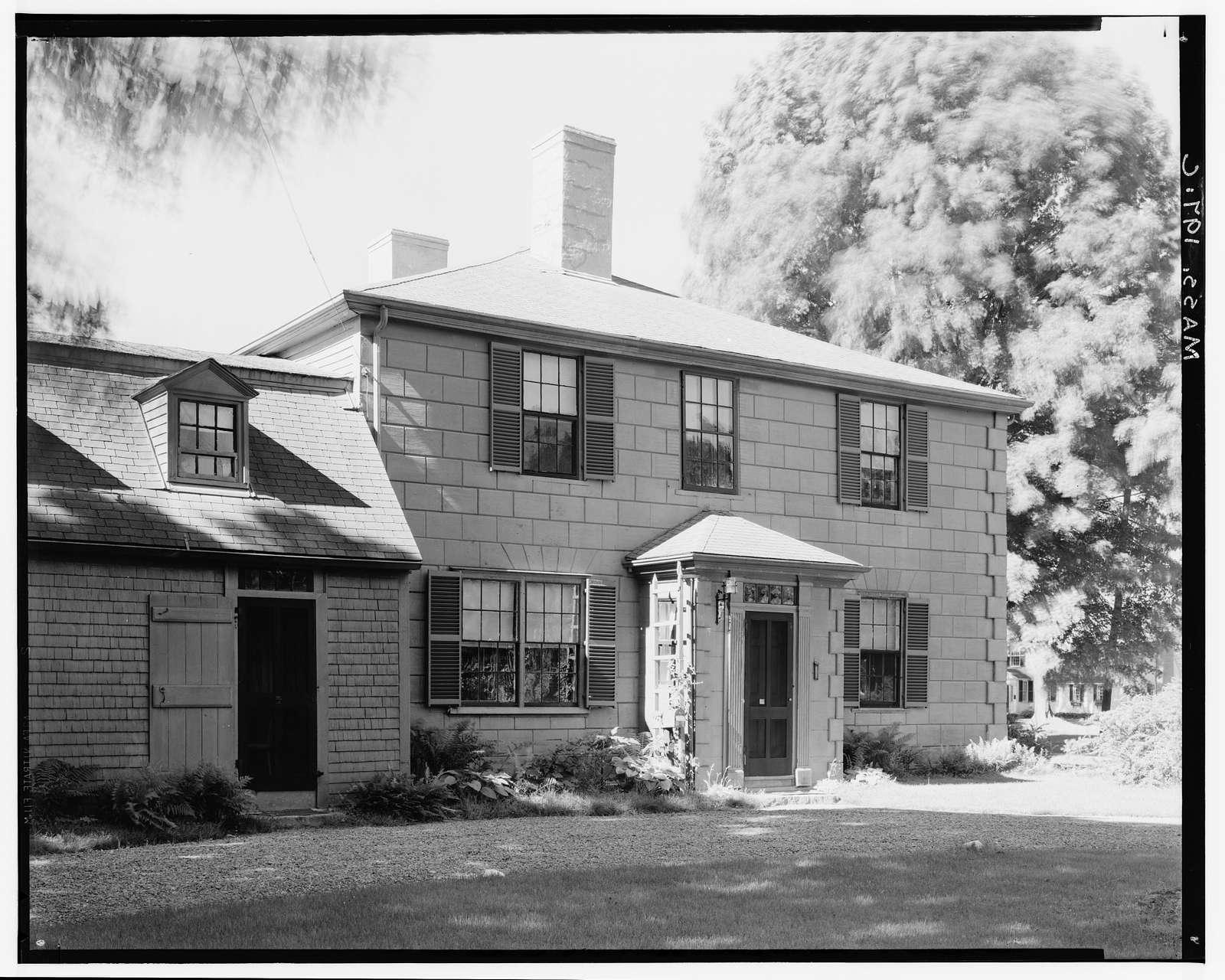 Daniel Shute House, Main & South Pleasant Streets, Hingham, Plymouth County, MA