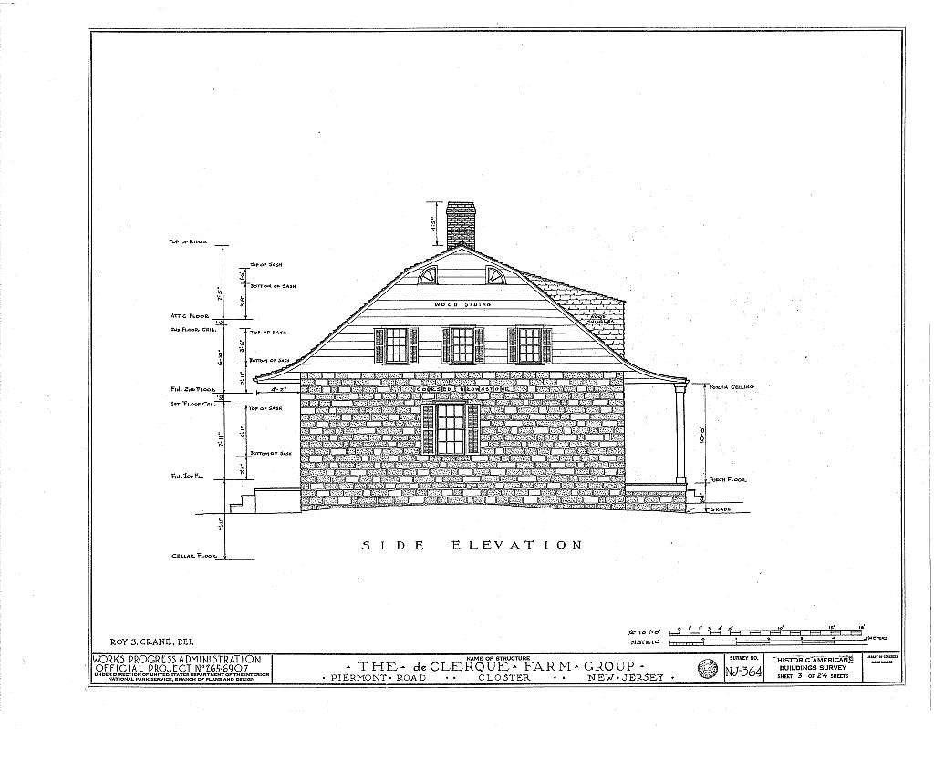 De Clerque Farm Group, Piermont Road, Closter, Bergen County, NJ