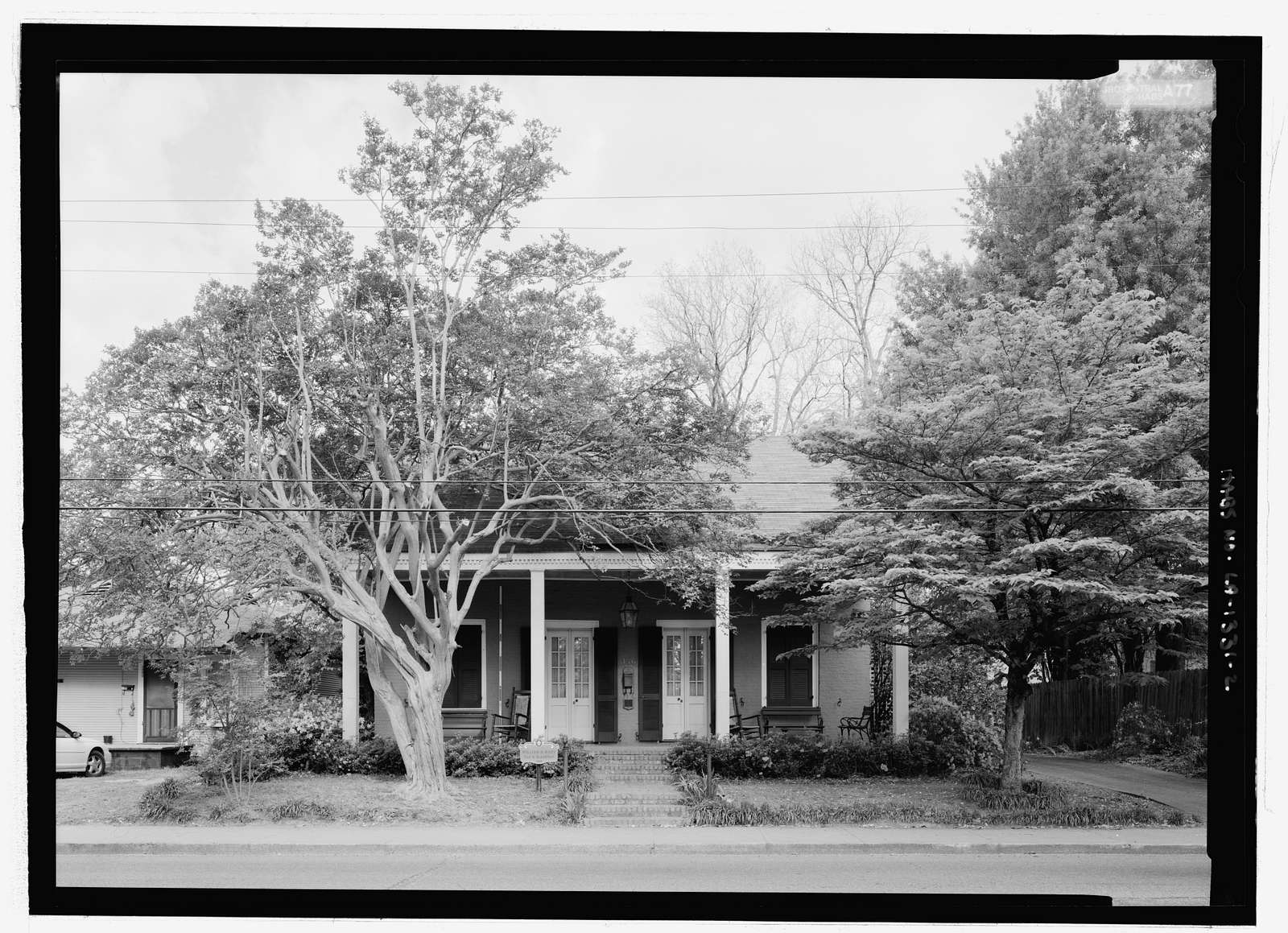 Dranguet-Ackel House, 146 Jefferson Street, Natchitoches, Natchitoches Parish, LA