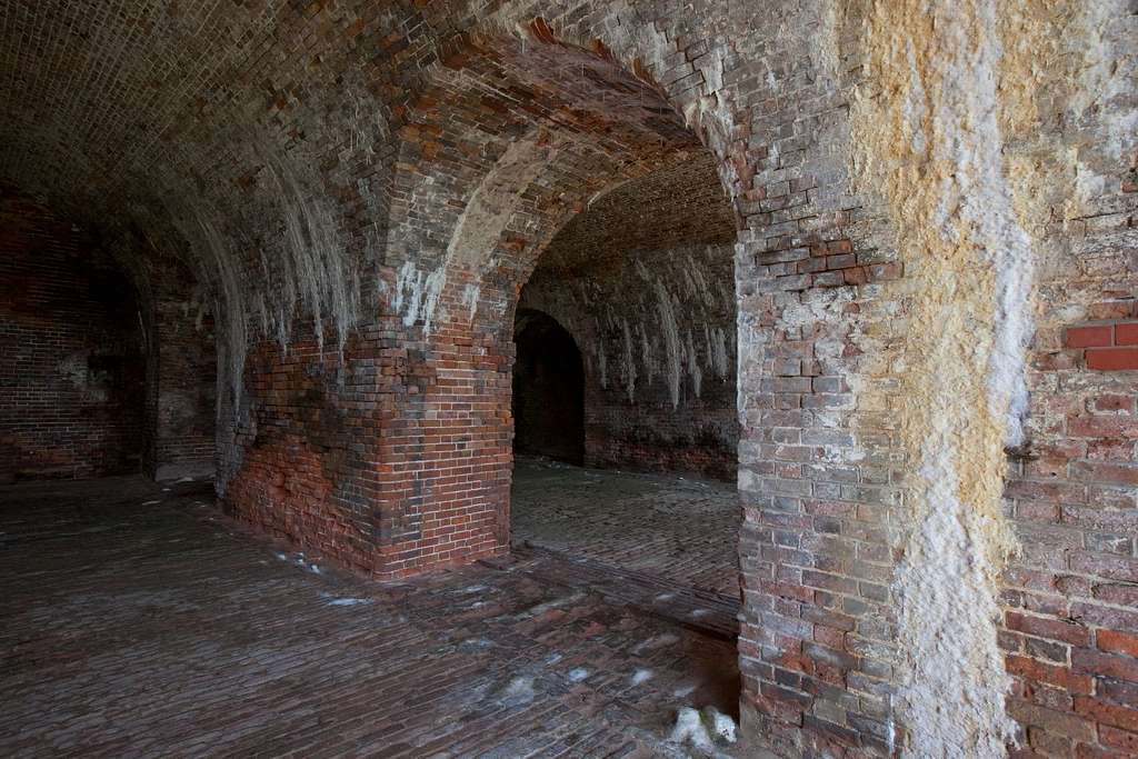 Fort Morgan is a historic fort at the mouth of Mobile Bay, Alabama