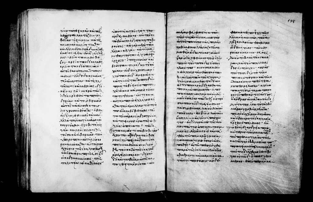 Greek Manuscripts 501. Menologion (Nov. 1-15), Part A