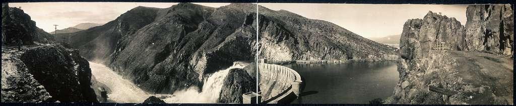 High water, Roosevelt Dam