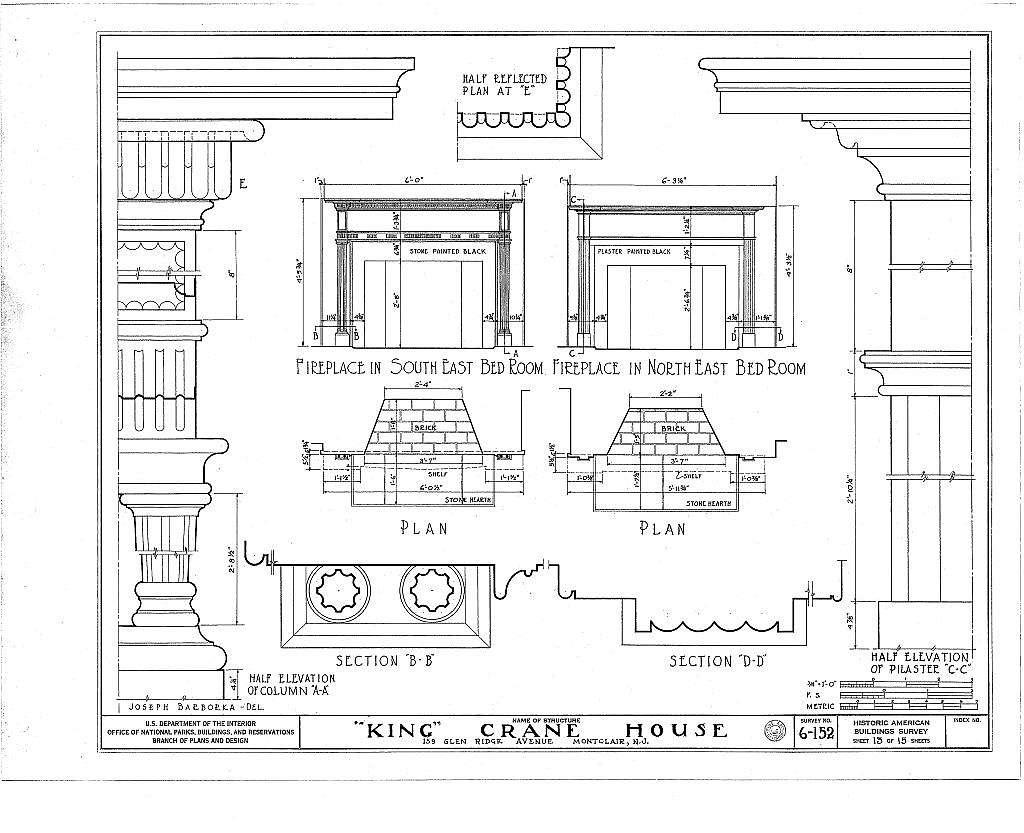 King Crane House, 159 Glenridge Avenue, Montclair, Essex County, NJ