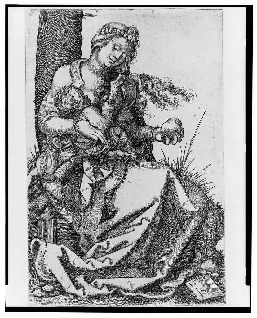 [Madonna with the pear]