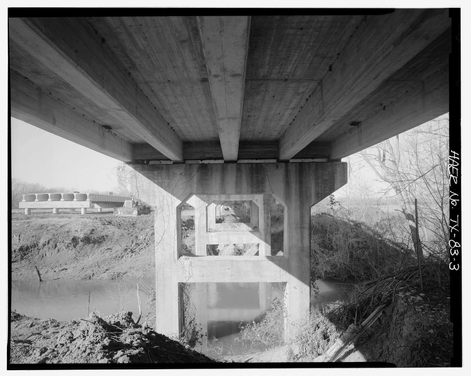 North Bosque River Bridge, Spanning North Bosque River at State Highway 6, Clairette, Erath County, TX