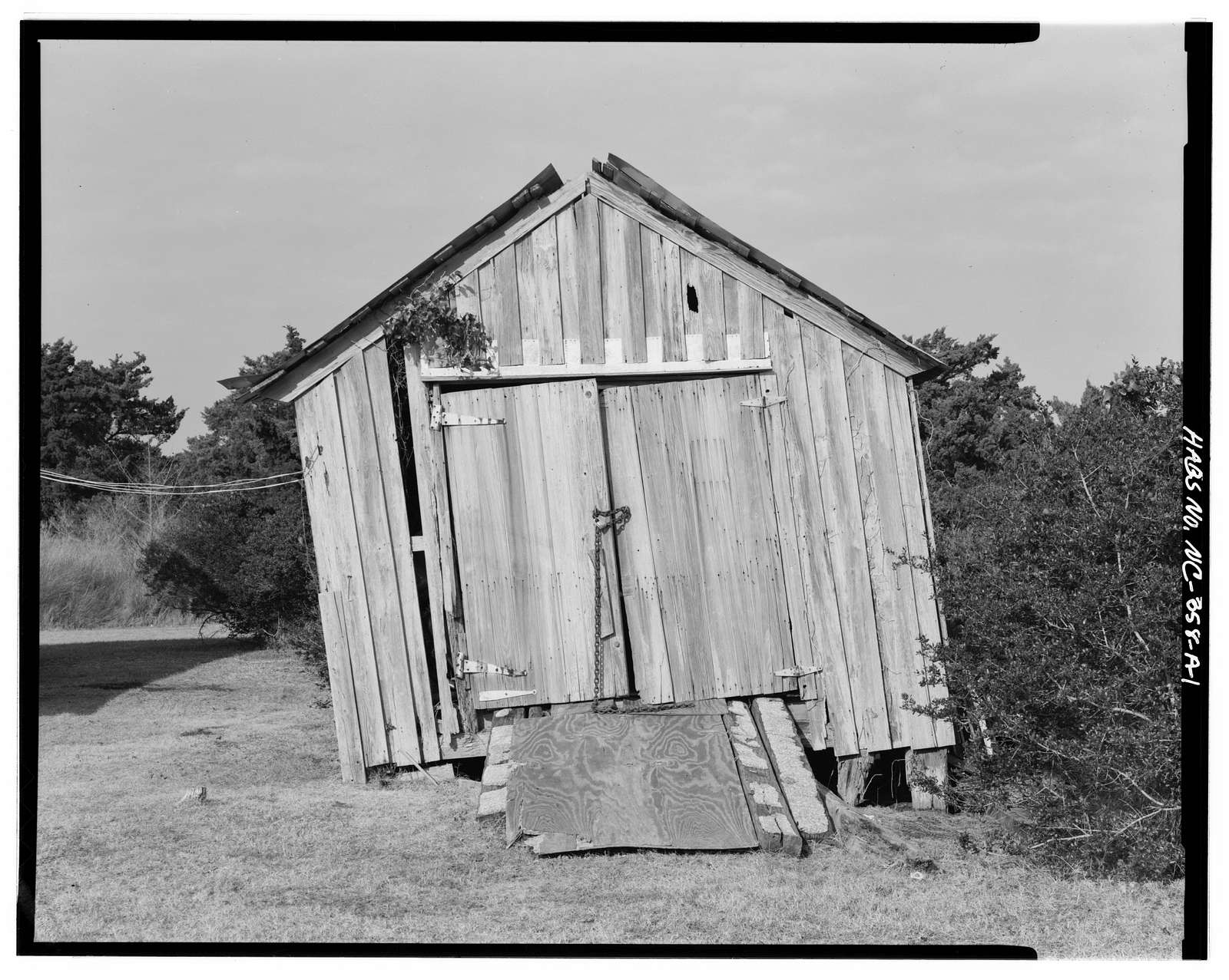 Portsmouth Coast Guard Station, Storage Shed, Portsmouth, Carteret County, NC