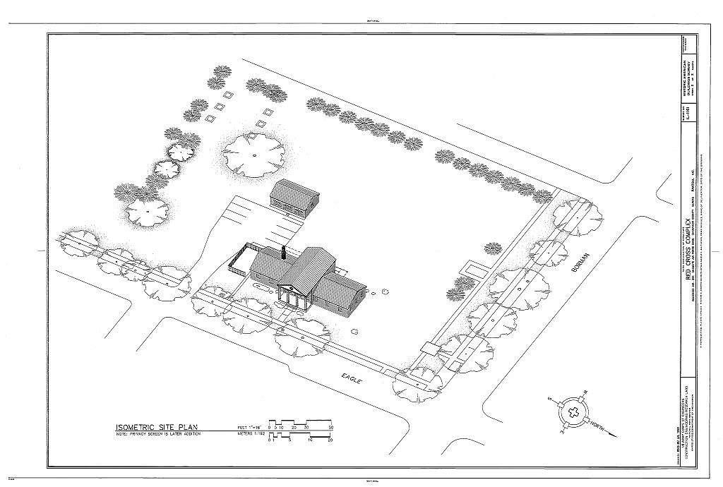 Red Cross Complex, Southwest corner of Eagle & Borman Drives, Rantoul, Champaign County, IL