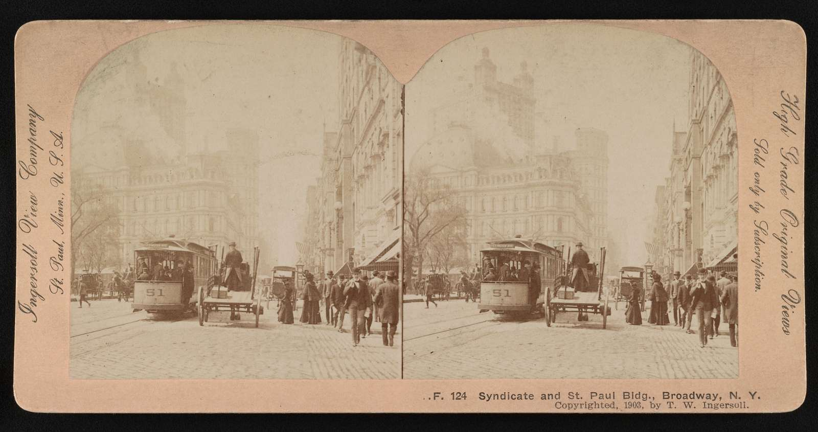 Syndicate and St. Paul Bldg., Broadway, N.Y.