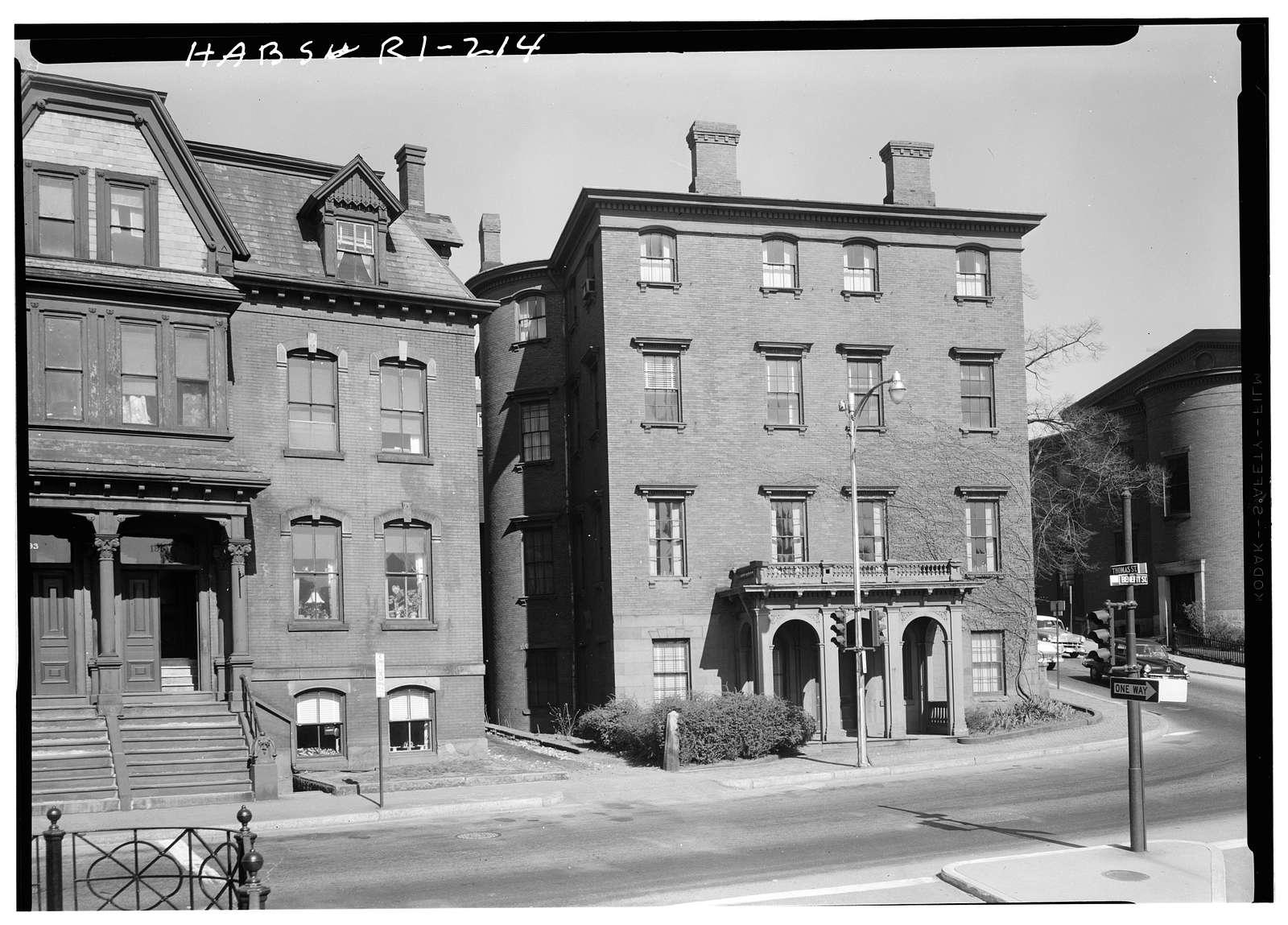 Thomas A. Jenckes House, 2 Angell Street, Providence, Providence County, RI