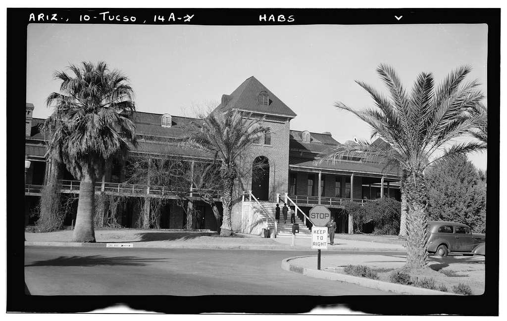 University of Arizona, Old Main, University of Arizona Campus, Tucson, Pima County, AZ