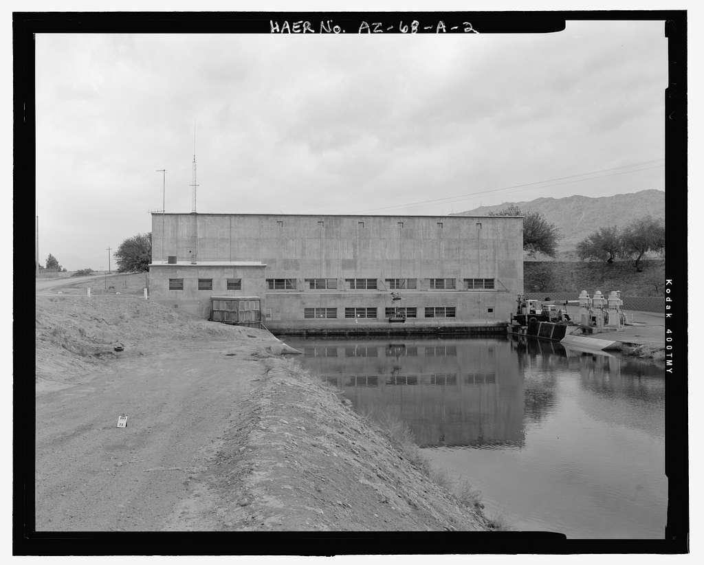 Wellton-Mohawk Irrigation System, Pumping Plant No. 1, Bounded by Gila River & Union Pacific Railroad, Wellton, Yuma County, AZ
