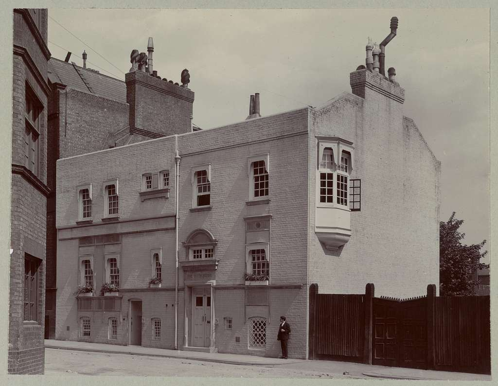 [White House, Tite Street, Chelsea, built for James M. Whistler by E.W. Godwin. Whistler lived there in 1878-9]