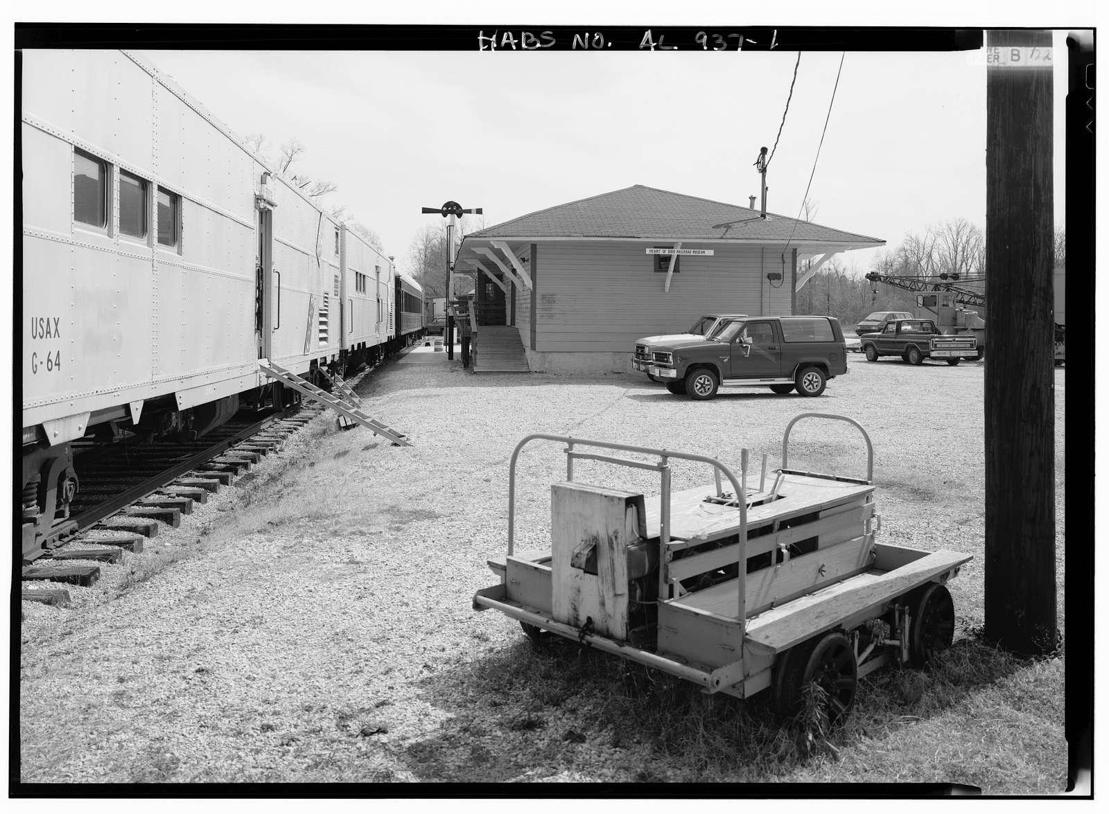 Wilton Depot, Ninth Street, Calera, Shelby County, AL