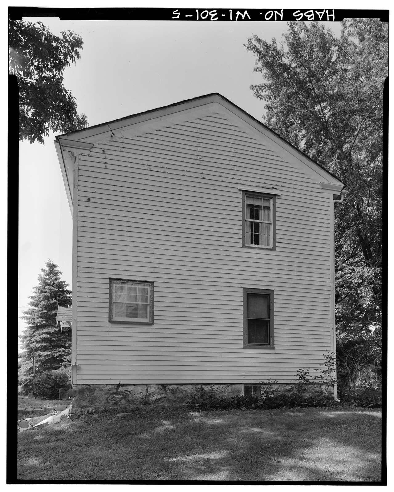A. B. Jackson House, State Trunk Highway 50, Bristol, Kenosha County, WI