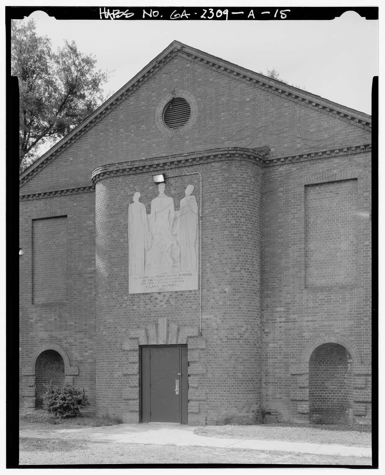 Clark Howell Homes, Community Center, 528 Lovejoy Street, Atlanta, Fulton County, GA