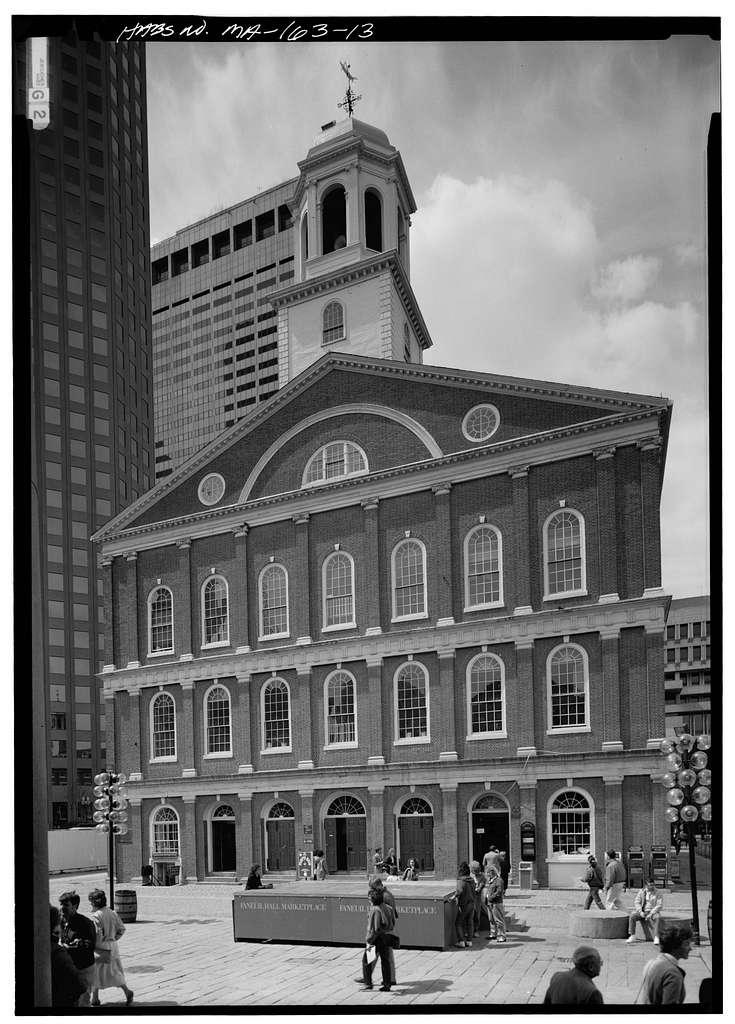 Faneuil Hall, Dock Square, Boston, Suffolk County, MA