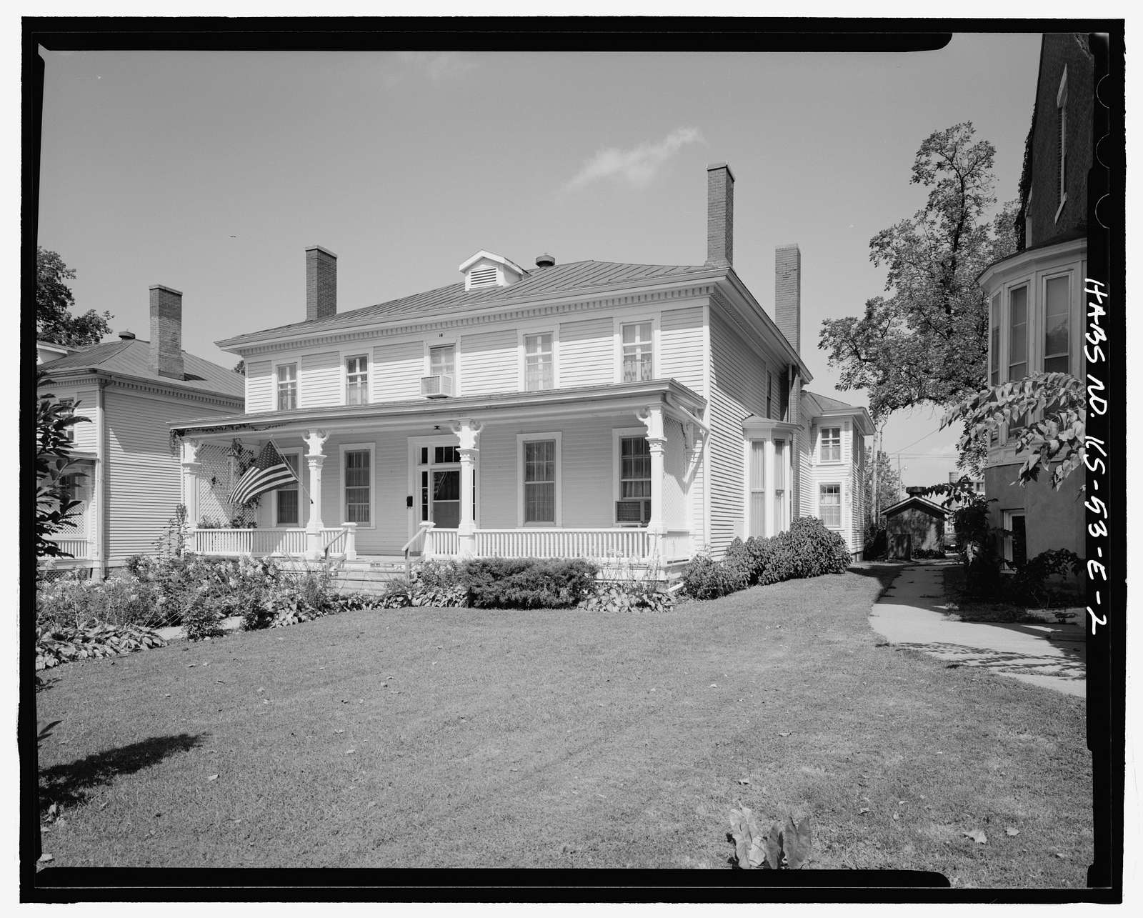 Fort Leavenworth, Building No. 16, 24 Sumner Place, Leavenworth, Leavenworth County, KS