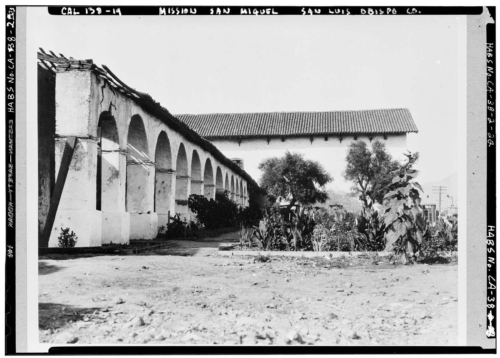 Mission San Miguel Arcangel, Highway 101, San Miguel, San Luis Obispo County, CA
