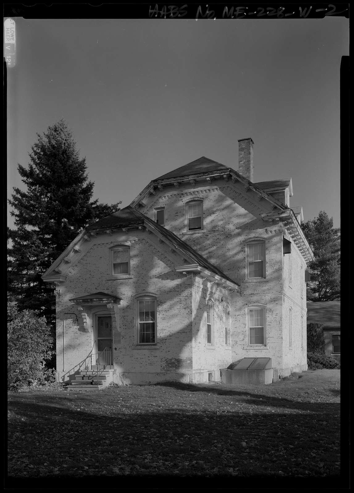 National Home for Disabled Volunteer Soldiers, Eastern Branch, Quartermaster Quarters, 1 VA Center, Augusta, Kennebec County, ME