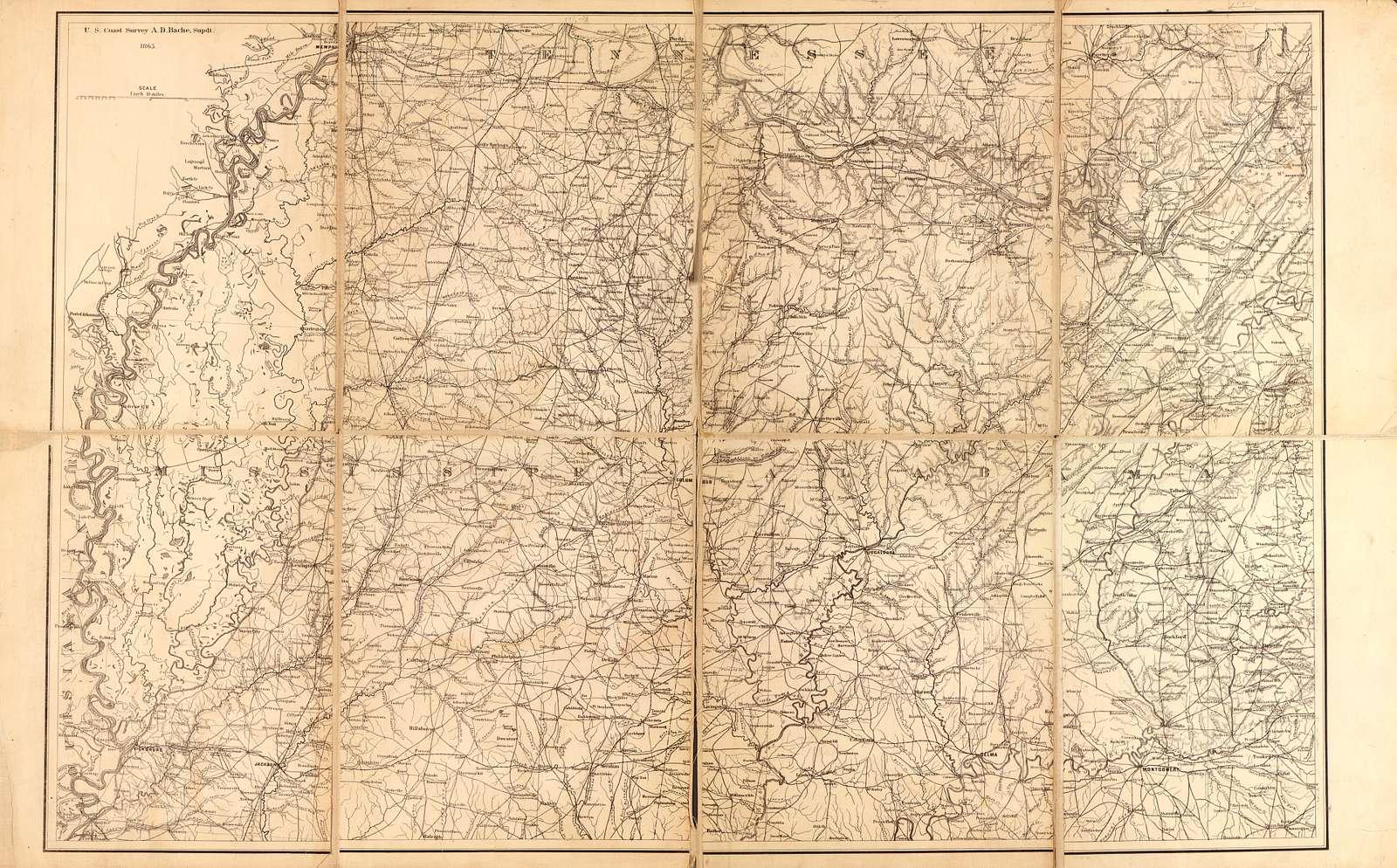 [Northern Mississippi and Alabama /