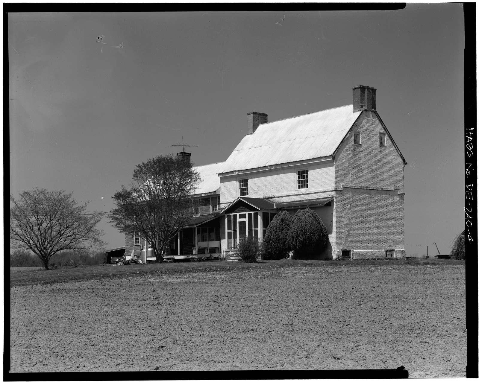 Robert Ashton House, Road 418, West of Route 2, Port Penn, New Castle County, DE