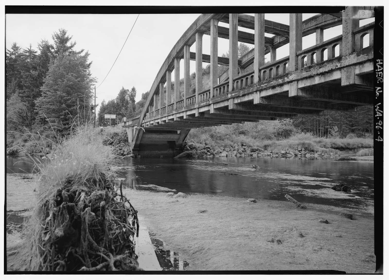 South Hamma Hamma River Bridge, Spanning Hamma Hamma River at U.S. Route 101, Eldon, Mason County, WA