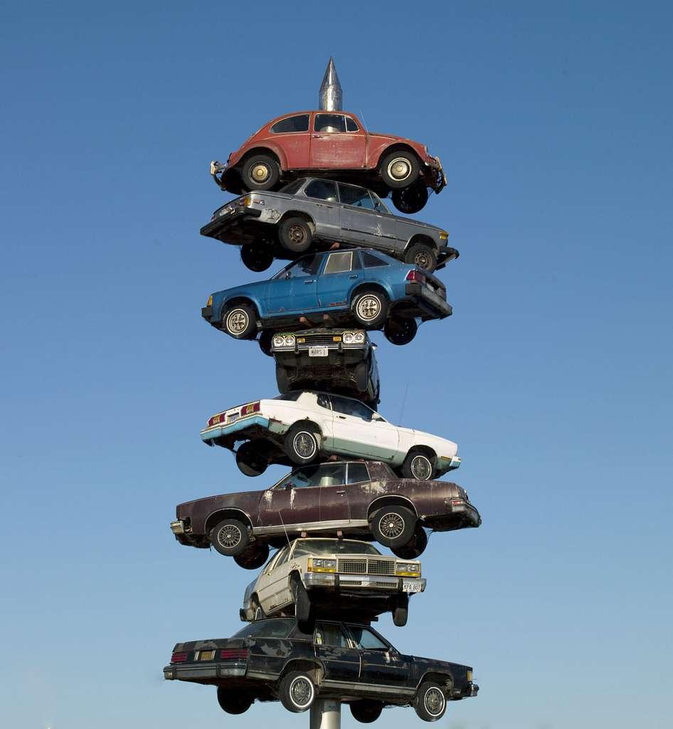 Berwyn car spindle, Berwyn, Illinois