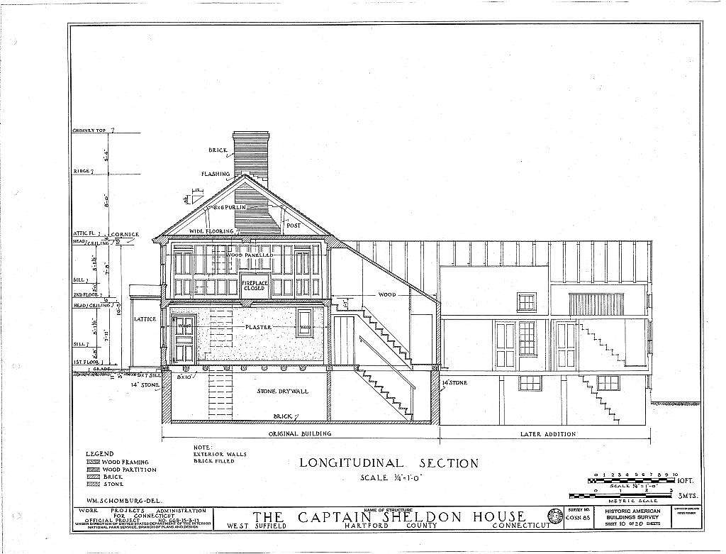 Captain Jonathan Sheldon House, Sheldon Street, West Suffield, Hartford County, CT