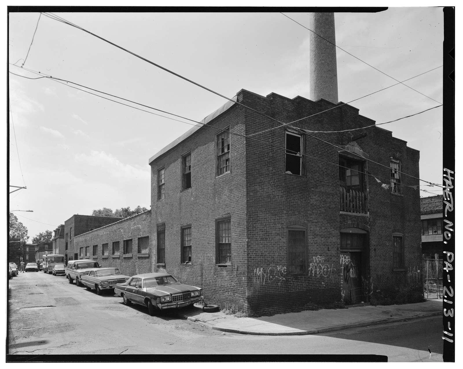 Daniel F. Waters Germantown Dye Works, 37-55 East Wister Street, Philadelphia, Philadelphia County, PA