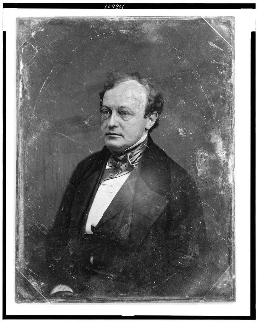 [John Van Buren, half-length portrait, three-quarters to left]