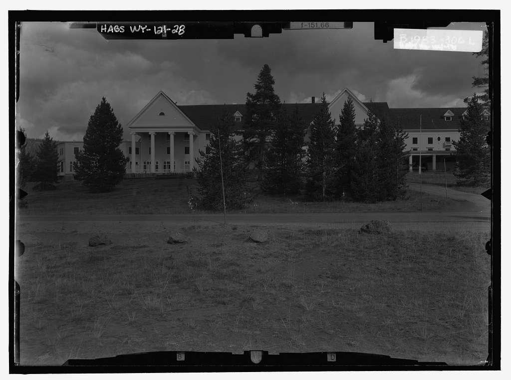 Lake Hotel, .5 mile East of Grand Loop Road & 1.3 miles southwest of Lake Junction, Lake, Teton County, WY