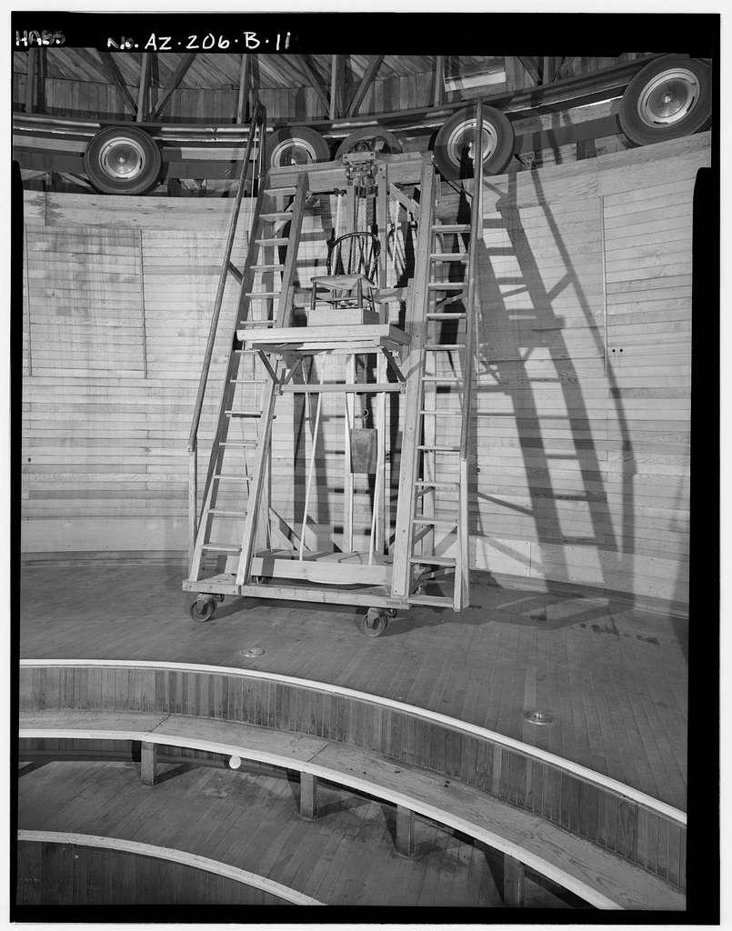 Lowell Observatory, Clark Dome, 1400 West Mars Road, Flagstaff, Coconino County, AZ
