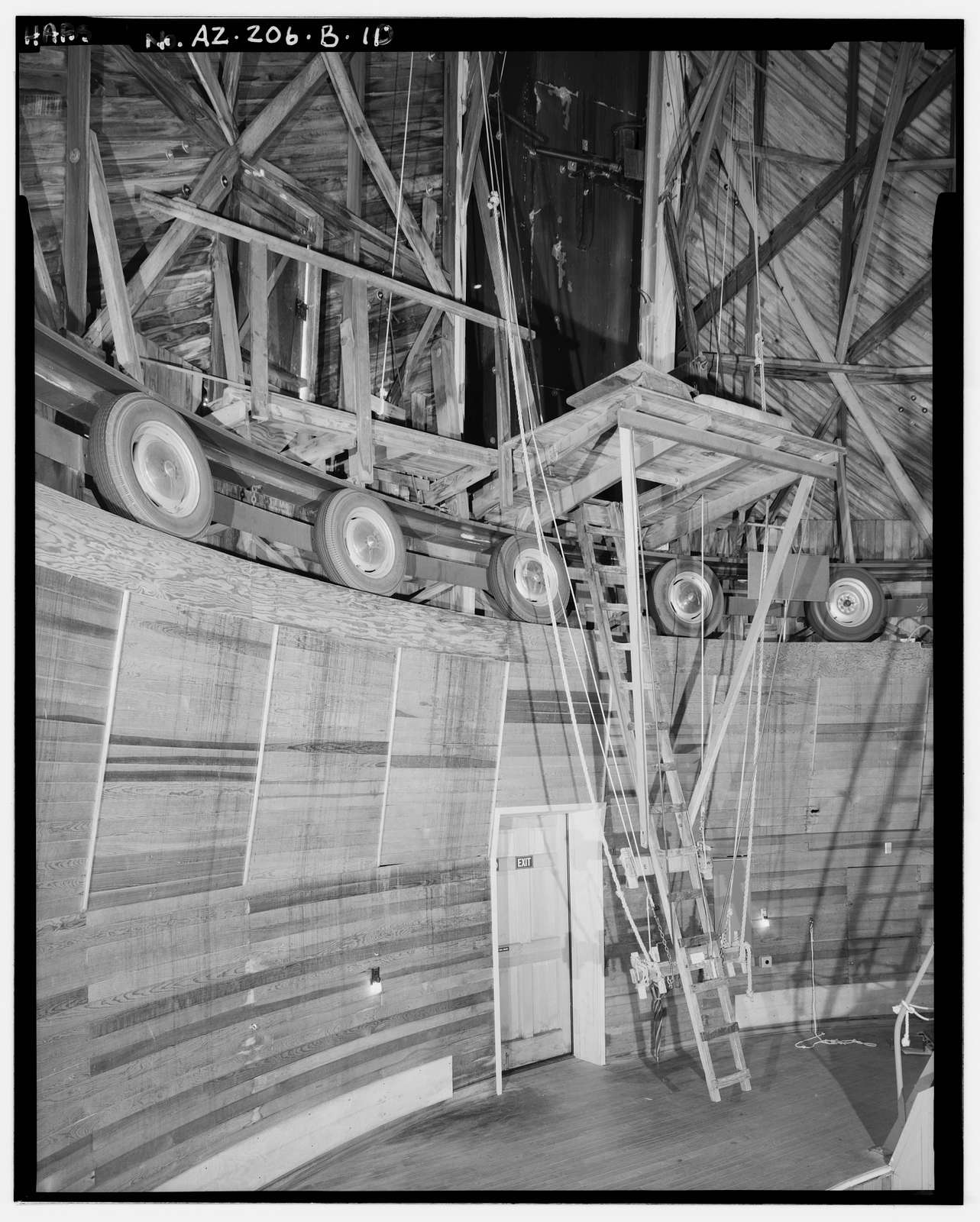 Lowell Observatory, Clark Dome, 1400 West Mars Road, Flagstaff, Coconino County, AZ