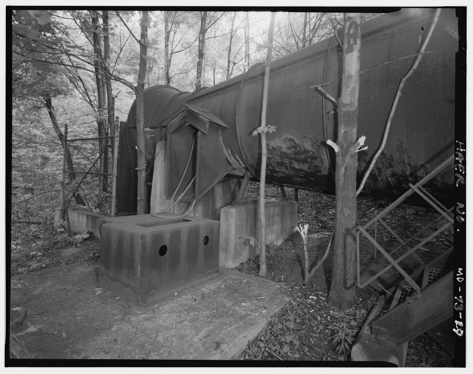 Ocean Mine No. 1 Complex, Powerhouse & Ventilation Fan, Midland, Allegany County, MD