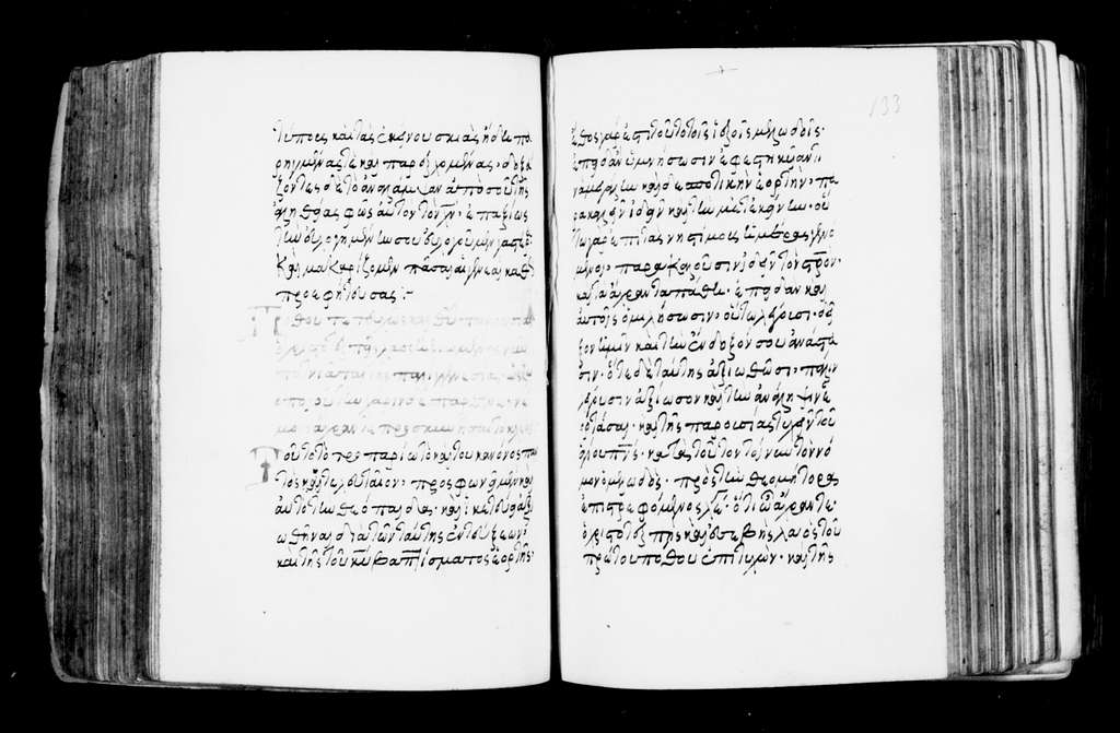 Panagios Taphos 213. Exegesis (Theodoros Prodromos). 16th cent. 659 f. Pa. 69 ft