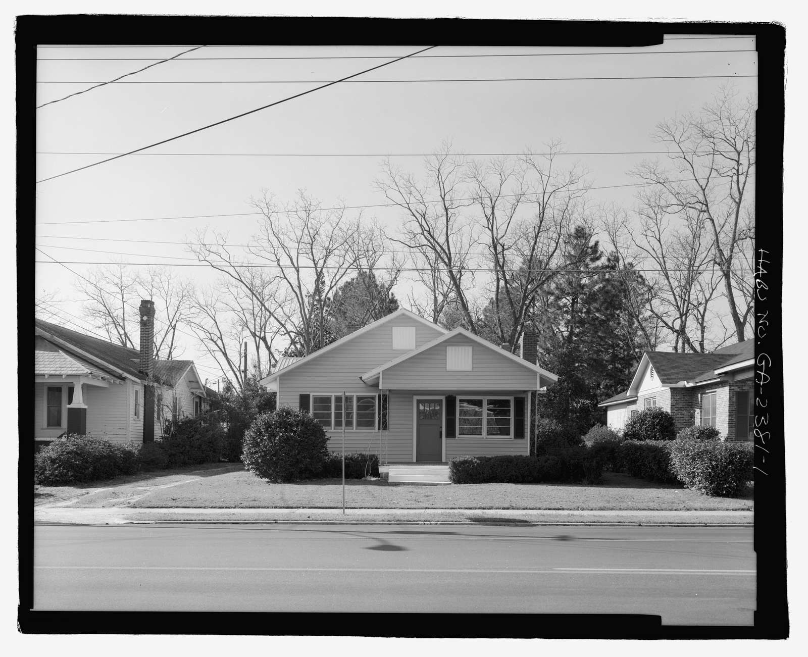 Raleigh Brannen House, 339 South Main Street, Statesboro, Bulloch County, GA
