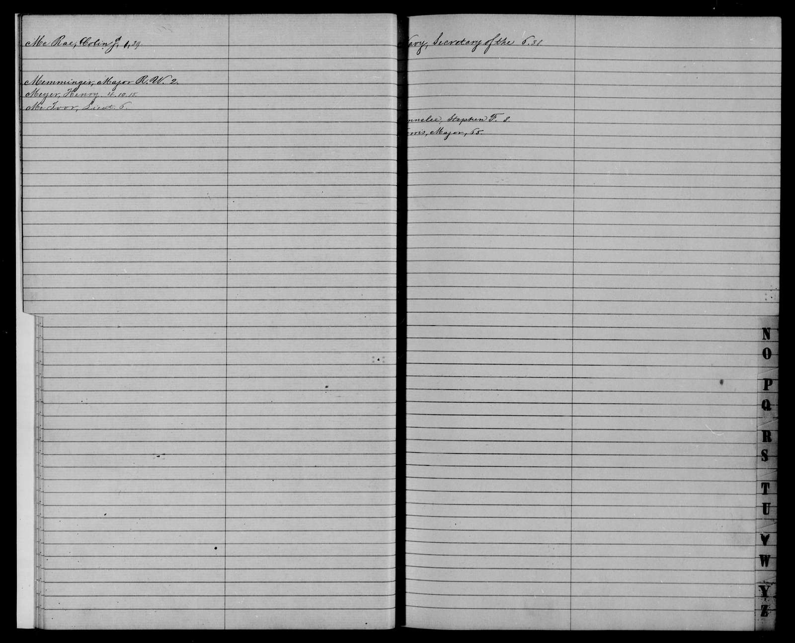 Confederate States of America records: Microfilm Reel 13