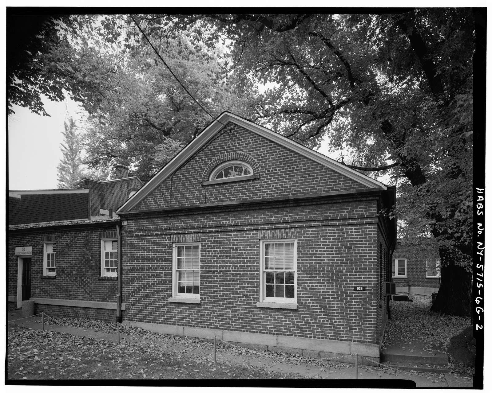 Governors Island, New York Arsenal, Office, New York Harbor near Andes Road, New York, New York County, NY
