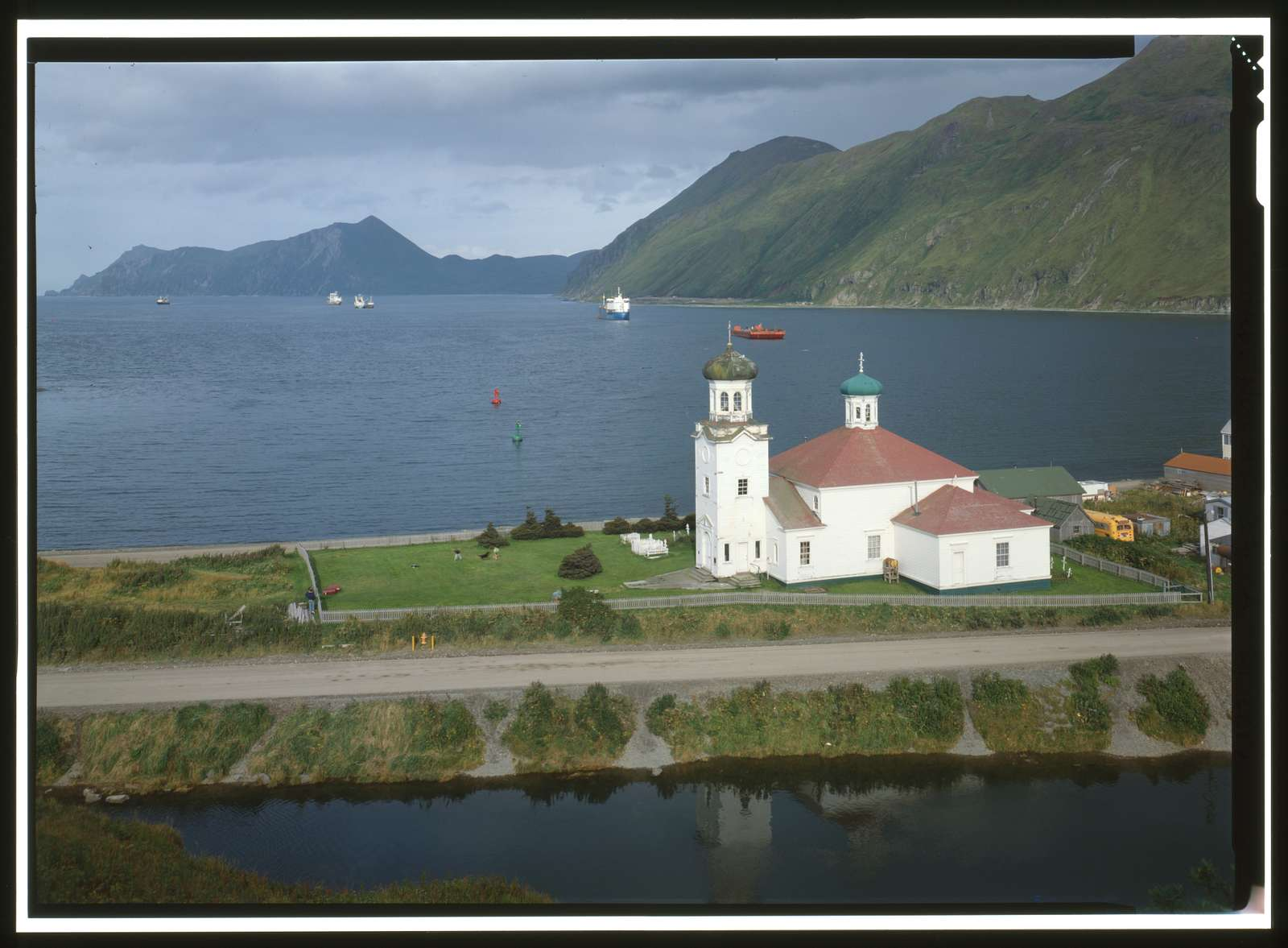 Holy Ascension Russian Orthodox Church, Unalaska Island, Unalaska, Aleutian Islands, AK