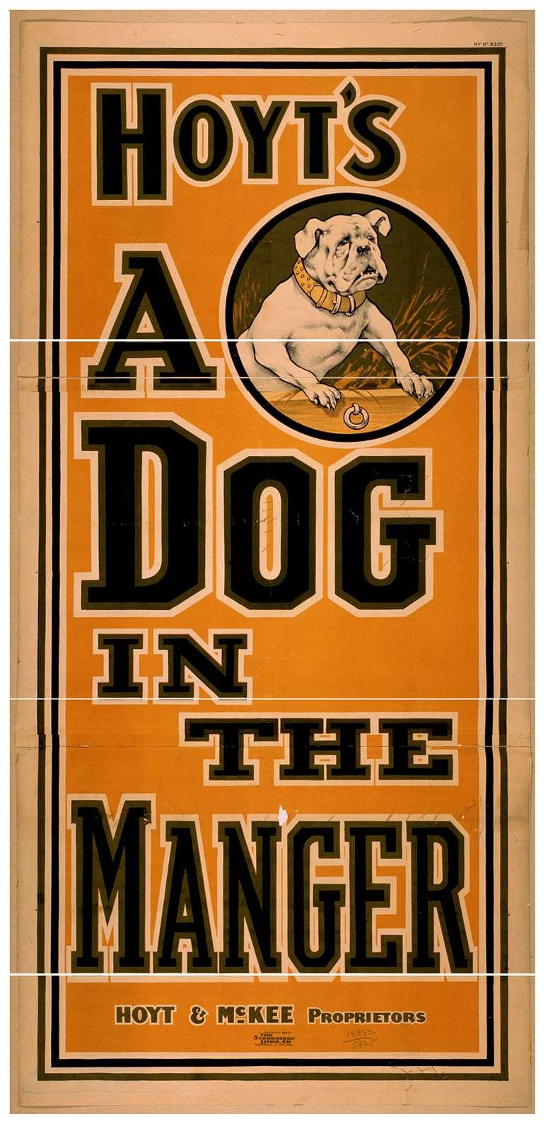 Hoyt's A dog in the manger