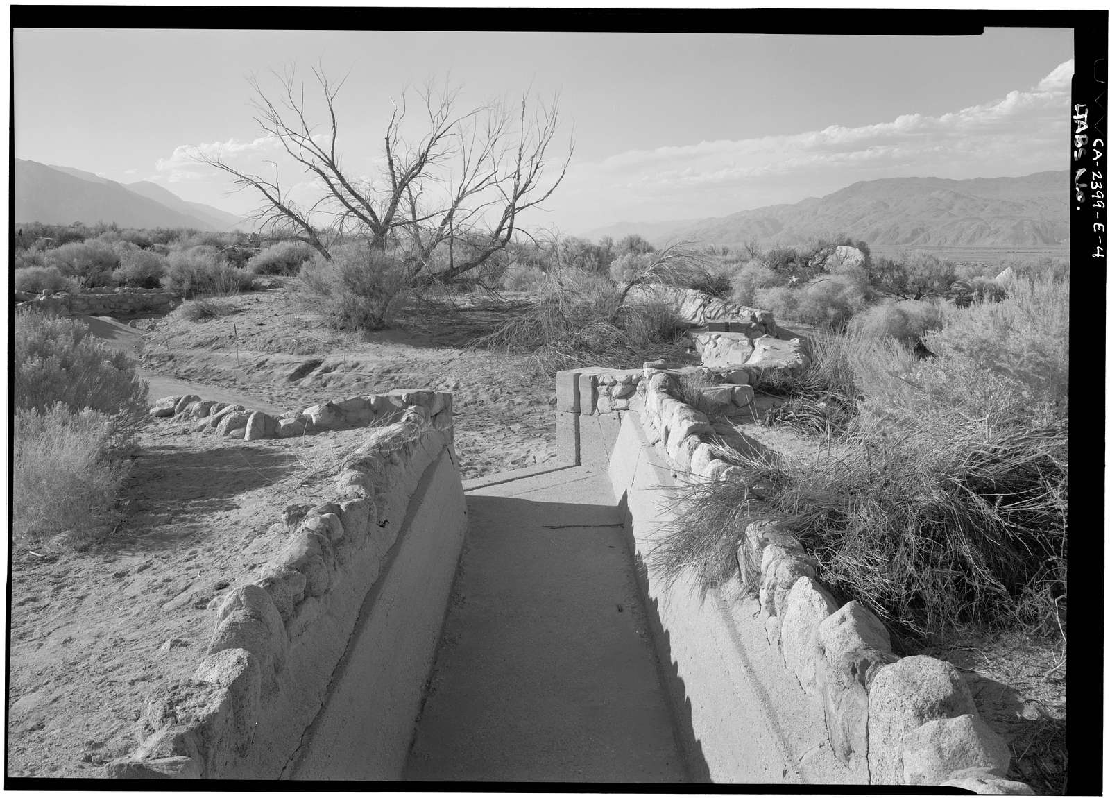 Manzanar War Relocation Center, Reservoir, Independence, Inyo County, CA