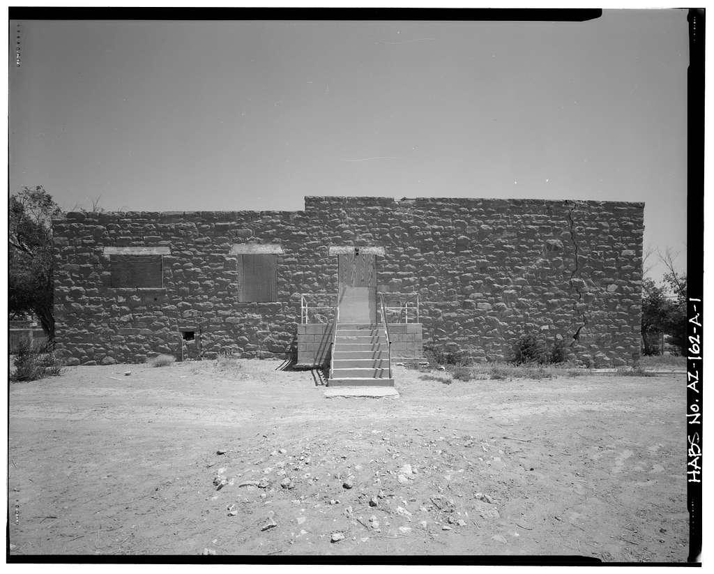 Pinon Boarding School, Classroom Building, Navajo Route 41, North of Navajo Route 4, Pinon, Navajo County, AZ
