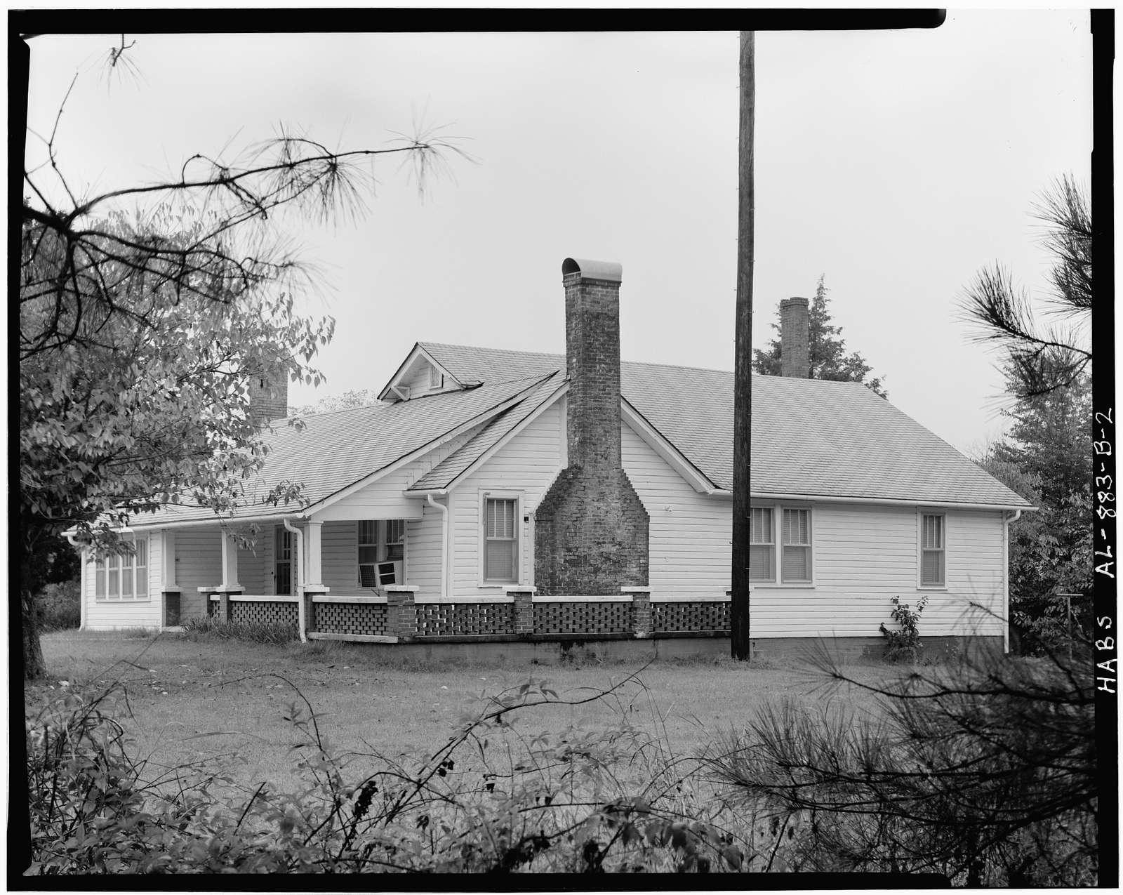 Redstone Arsenal, Harris Residence, Off Buxtia Road between Shields & McAlpine Roads, Huntsville, Madison County, AL