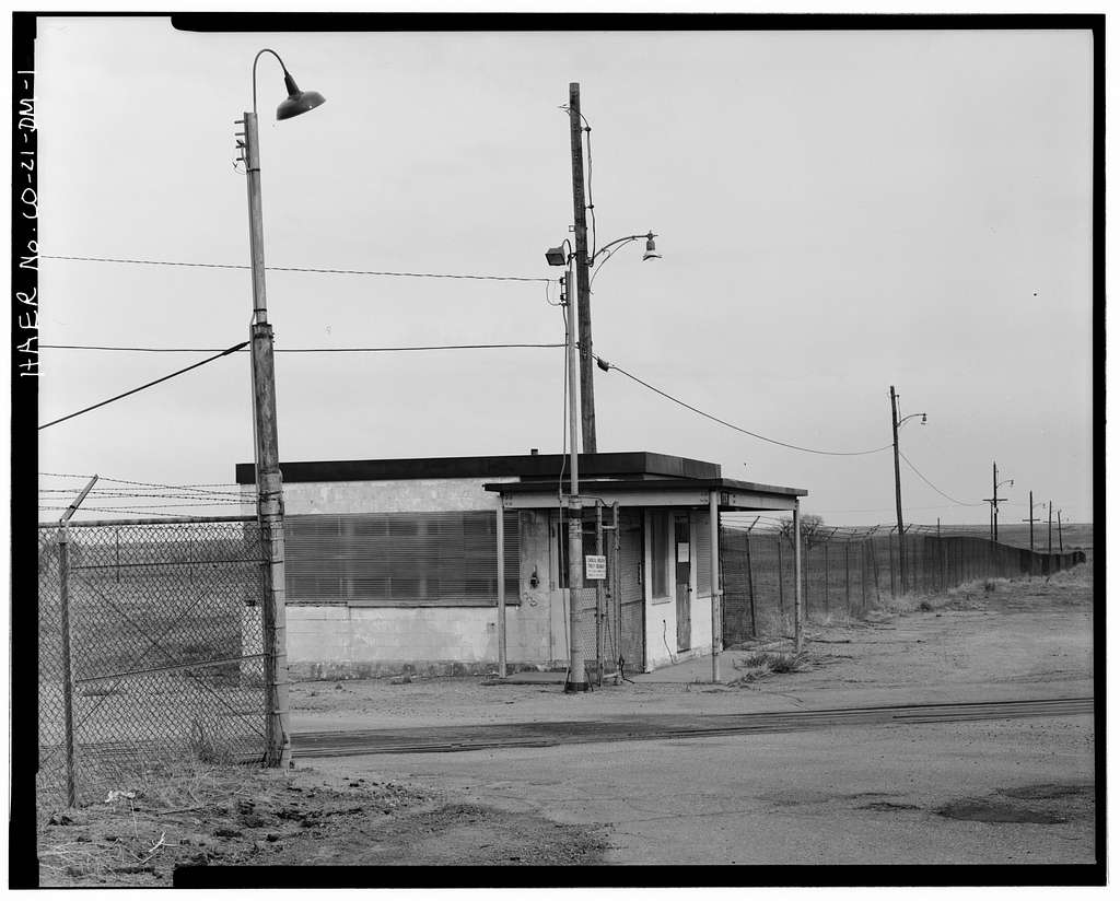 Rocky Mountain Arsenal, Sentry Station, 45 feet North of Eighth Avenue at South entrance to North plant, Commerce City, Adams County, CO