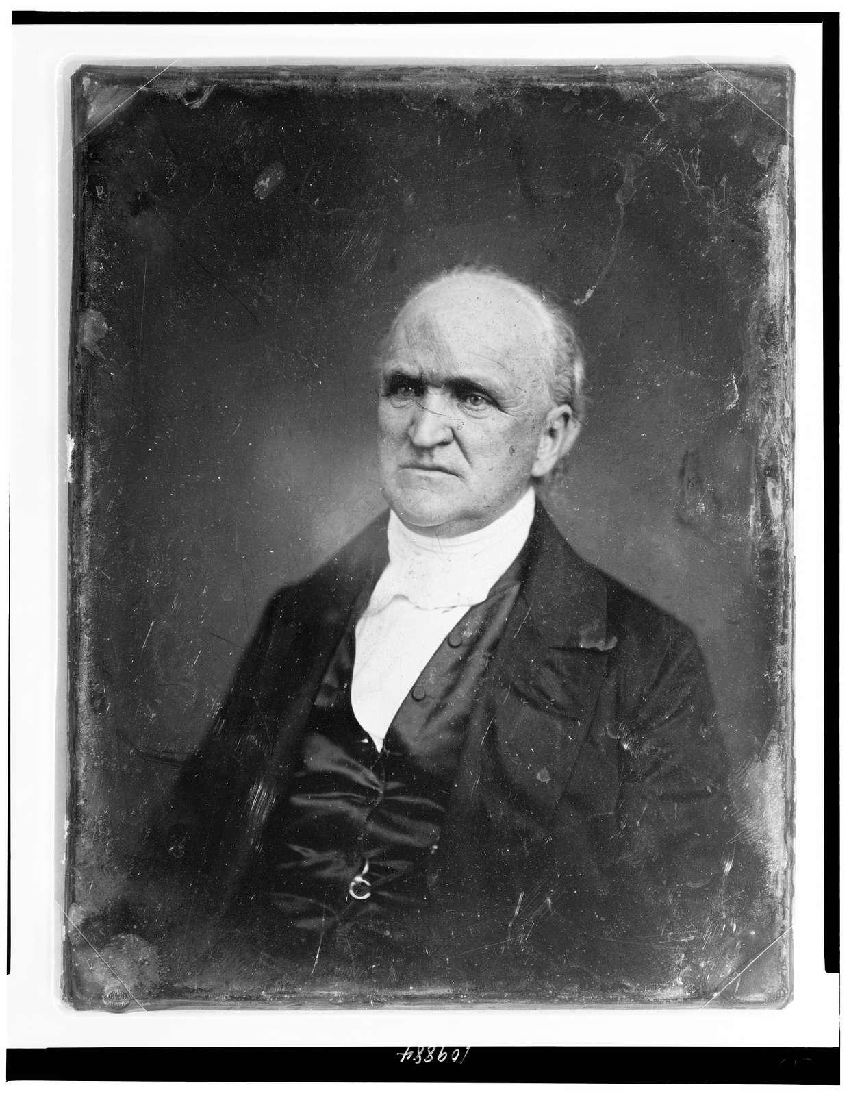 [Samuel Hanson Cox, half-length portrait, three-quarters to the left]