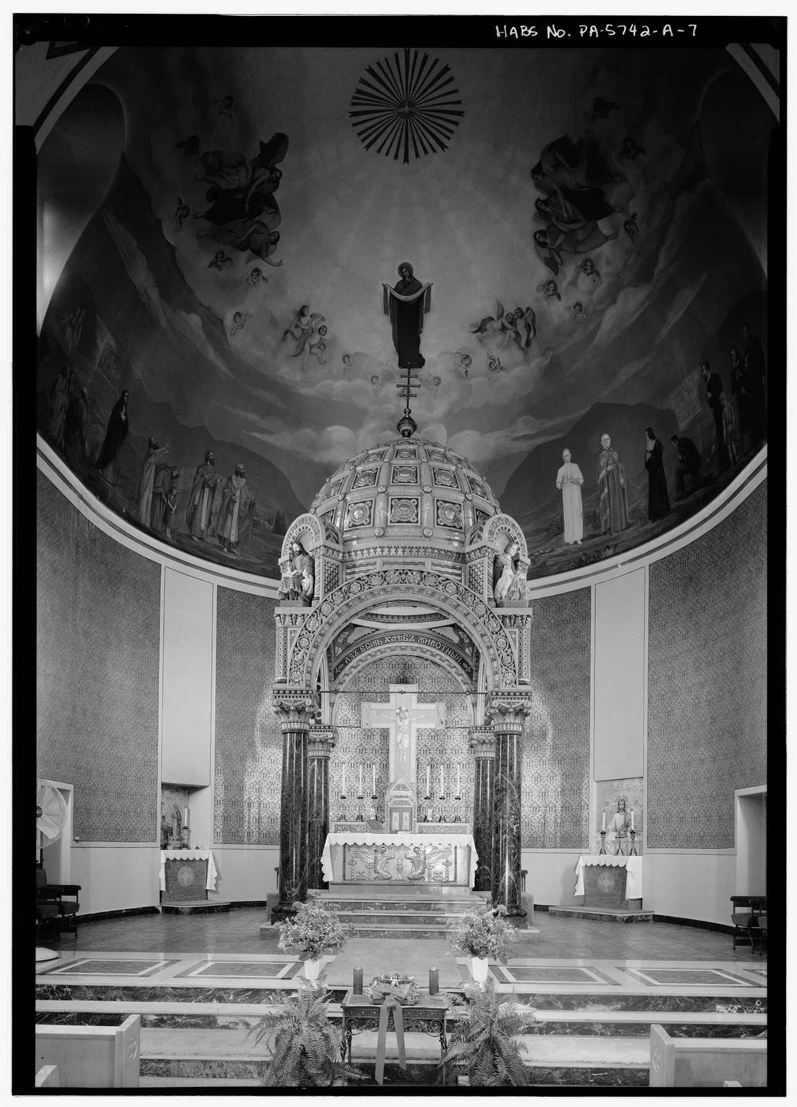 St. Mary's Greek Byzantine Catholic Church, Church, 401 Power Street, Johnstown, Cambria County, PA