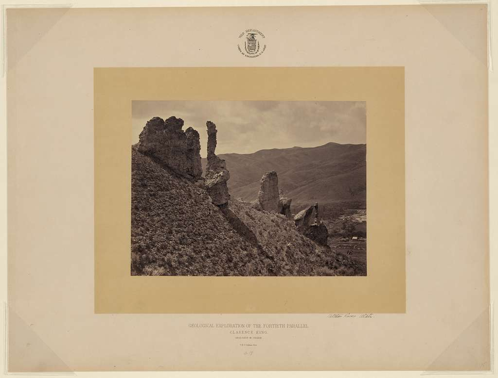 Witches Rocks, Utah / T. H. O'Sullivan, phot.