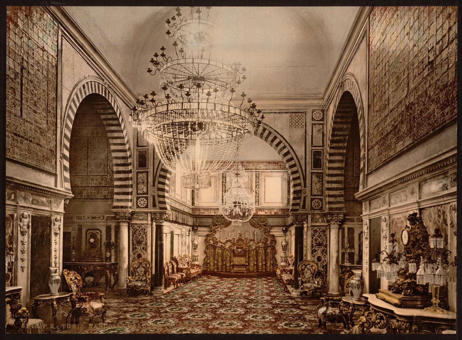 [Bardo, the throne room, Tunis, Tunisia]