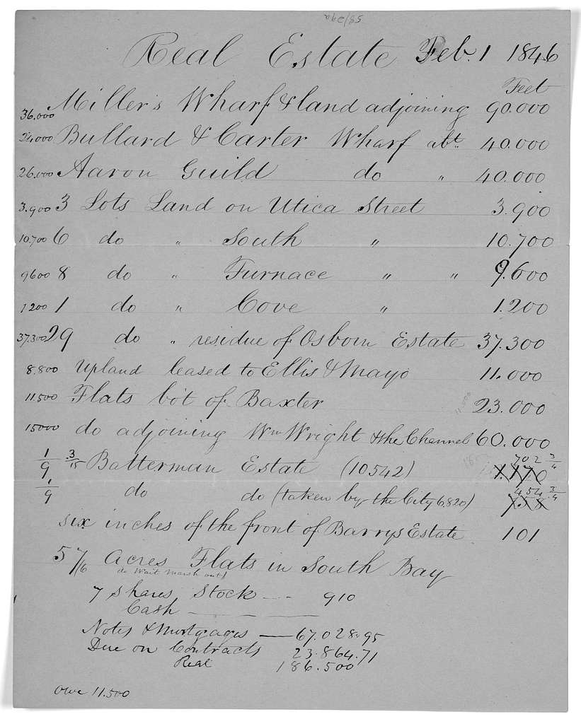 Dear Sir. The enclosed documents will show what the Massachusetts state Texas committee are doing ... Boston. November 6, 1845.