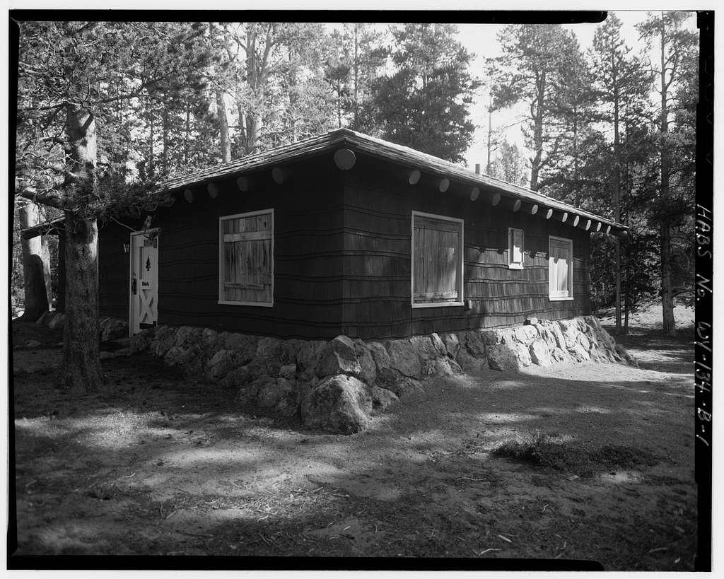 Fishing Bridge Museum, Naturalist's Quarters, East of Museum & southwest of General Store, Lake, Teton County, WY